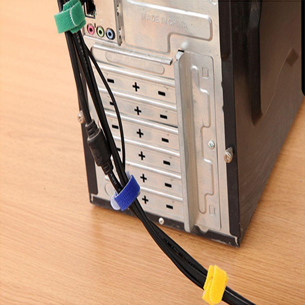 10PCs//set Car USB Charger Holder Tie Cord Clip Drop Cables Tidy Organizer