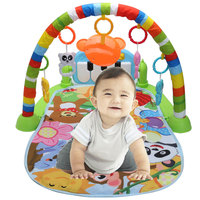 3 In 1 Educational Rack Toys Baby Music Play Mat Keyboard Infant Fitness Carpet Gift For