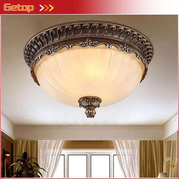 American Iron Ceiling Lamp Modern Simple Study Aisle Balcony Resin Ceiling Lamp Nordic Bedroom Lighting Fixtures LED E27 Light american vintage fashion led ceiling light bathroom balcony lighting lustre led aisle ceiling light lamps