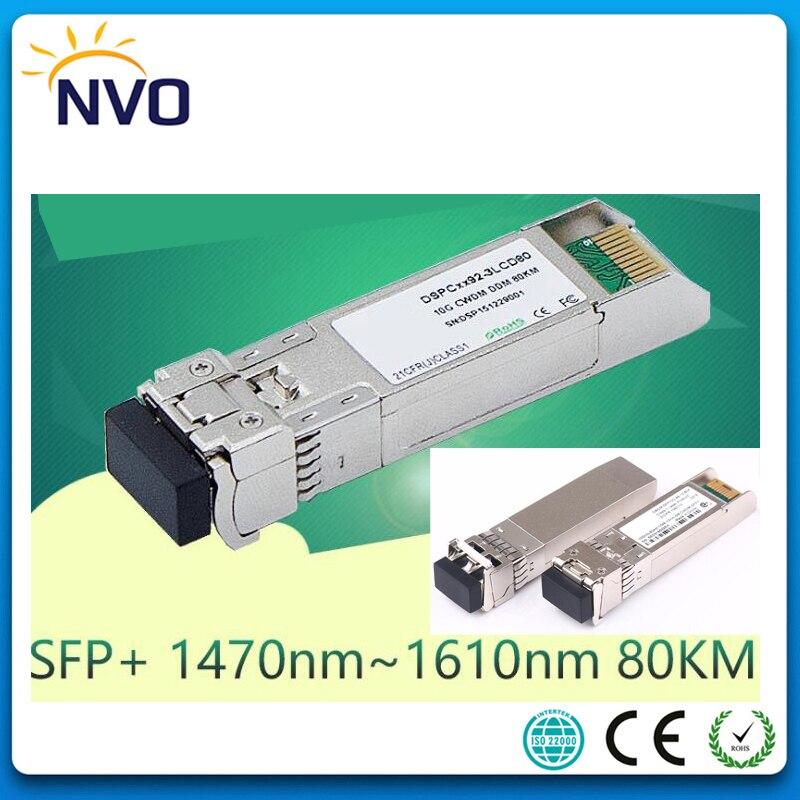 10G CWDM-SFP+-ZR,10GBASE CWDM SFP+ Fiber Transceiver,10G 80KM 1470~1610nm ZR SFP+Fiber Optic Module,DDM,Compatible with Cisco10G CWDM-SFP+-ZR,10GBASE CWDM SFP+ Fiber Transceiver,10G 80KM 1470~1610nm ZR SFP+Fiber Optic Module,DDM,Compatible with Cisco