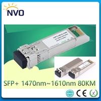 10G CWDM SFP+ ZR,10GBASE CWDM SFP+ Fiber Transceiver,10G 80KM 1470~1610nm ZR SFP+Fiber Optic Module,DDM,Compatible with Cisco