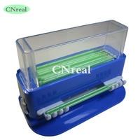 1 unid cepillo dental micro aplicador dispensador plástico azul Dispositivo de laboratorio del dentista equipo