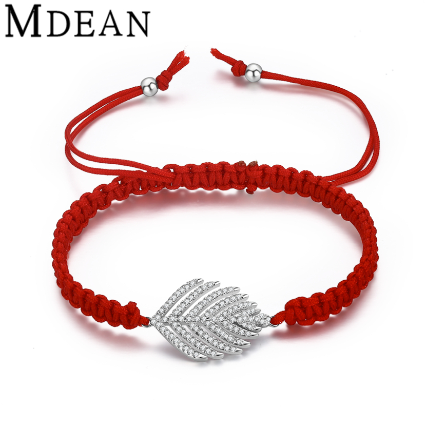 MDEAN white gold plated Bracelets for women fashion ...