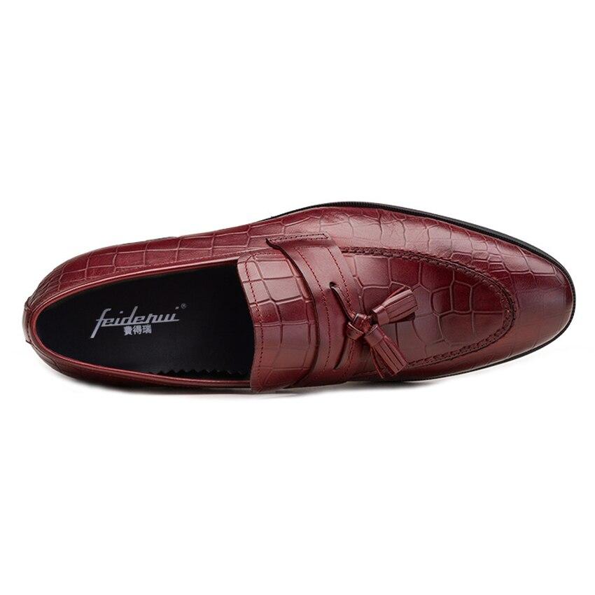 Genuíno Preto vermelho Nova Dedo Dos De Ymx583 Apontado Casuais Formal Homens Bolsa Homem Jacaré Casamento Em Luxo Deslizamento Mocassins Couro Vestido Vinho Handmade Sapatos qvfWtB1wf