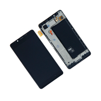 LCD Display For Microsoft Nokia Lumia 950 RM 1105 1104 LCD Display Touch Screen Digitizer Assembly With Frame Repair Parts WIFI