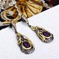 Amor Pendientes de Lujo de diseño Maravilloso Marcas Destacadas del Último diseño vestido de Noche de cóctel Geométrica pendientes bohemios