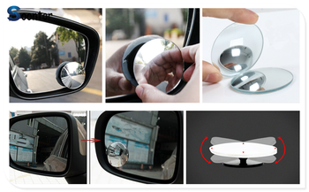Car rear view blind spot mirror wide angle lens For BMW all series 1 2 3 4 5 6 7 X E F-series E46 E90 X1 X3 X4 X5 X6 F07 F09 image