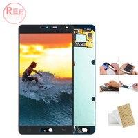 Оригинальный 5,5 AMOLED ЖК дисплей для SAMSUNG Galaxy A7 2015 ЖК дисплей Дисплей A700 A700F A700FD ЖК дисплей Сенсорный экран планшета Запчасти для авто