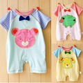 Newborn Romper Cotton Baby Clothes Animal Style Baby Girls Clothing Roupas Bebe Summer Toddler Jumpsuits 2017 Baby Boy Rompers