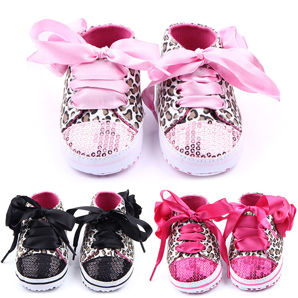 Infant-Kid-Girl-Leopard-Bling-Shoelace-Shoes-Baby-Toddler-Soft-Sole-Sneaker-Crib-Shoes-5