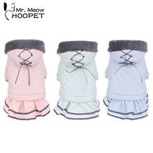 Hoopet Одежда для собак кошек костюм теплое пальто для маленьких собак домашнее животное пальто щенок зимнее платье