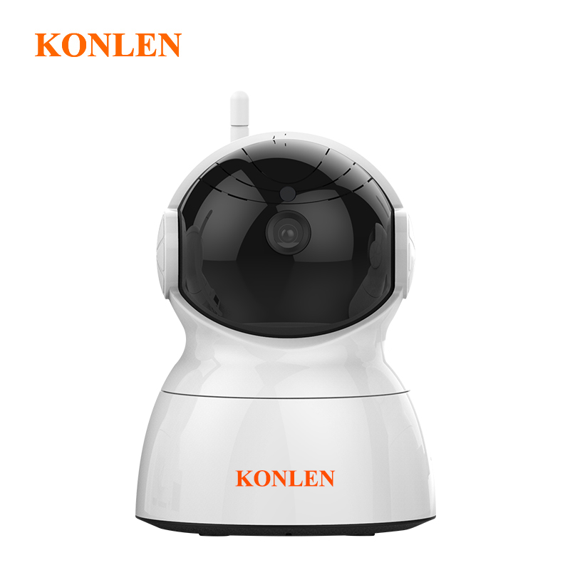 "KONLEN 2MP フル Hd 1/2。 7 ""CMOS セキュリティホーム Ip カメラ 1080P 無線 LAN 有線監視 CCTV PTZ オーディオ TF カード新 2018  グループ上の セキュリティ & プロテクション からの 監視カメラ の中 2"