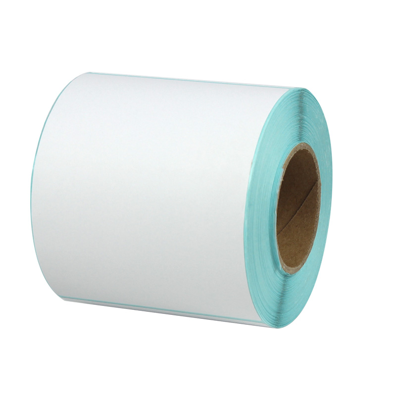 1roll Thermal sticker paper75*100*250 sheets waterproof barcode printing paper paper bar code label printing paper