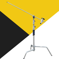 C Stand,All metal Photography Tripod Light Stand for Reflectors, Softboxes, Umbrellas CD50