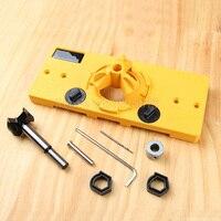 1Set 35MM Hinge Drilling Guide It Woodworking Tools Carpenter DIY Tools JF1284