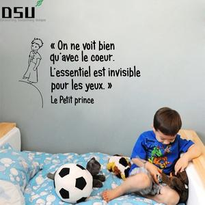 French Quotes Little Prince Wall Stickers FQ0004 Wallpaper