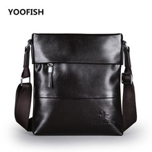 New PU mens messenger bag handbag Brand Business briefcase fashion shoulder crossbody Free Shipping
