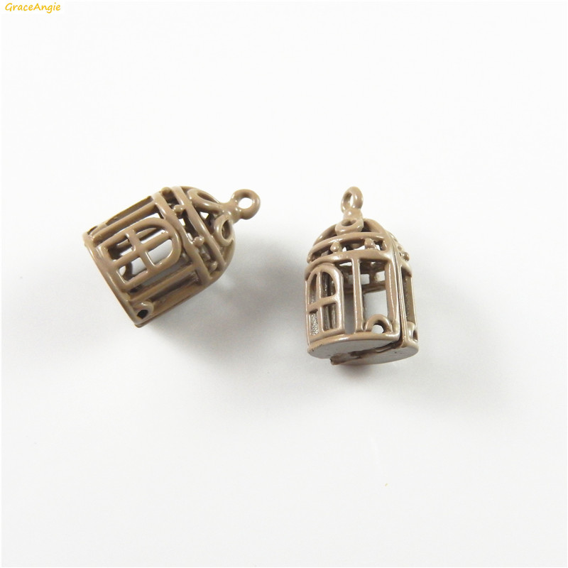 10Pcs Antique Bronze Pot Camera Charm Pendant Beads Jewelry Making Crafting