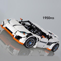 New Technics Technology Super Sports Cars Marauders Moc Building Block Model Bricks Toys Collection For Adult