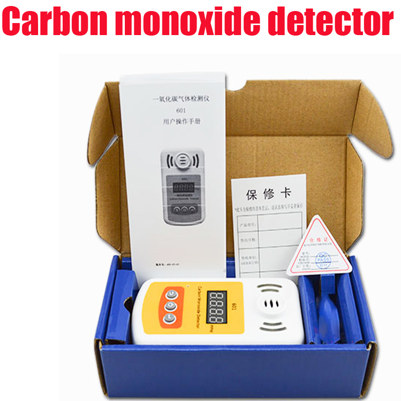 CO detector digital display Carbon monoxide detector Portable toxic gas detector with sound and light alarm no sf6 o2 o3 co2 voc no2 co so2 nh4 h2o2 carbon monoxide gas detector 4 20ma three wire toxic gas detection module output module