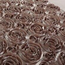 Handwork Rose Shaped Duvet  Bedding Set