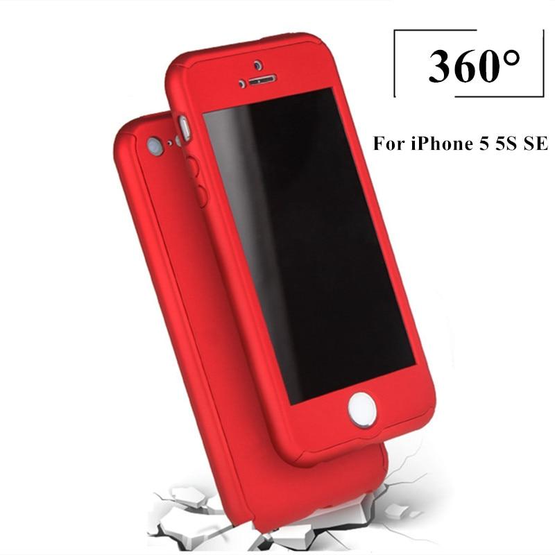 5S luksuzni 360 stupnjeva tvrdo mat kućište računala za iPhone 5 - Oprema i rezervni dijelovi za mobitele