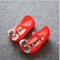 stylish design bowknot Jelly Shoes 2016 Newest Fashion Baby Girl Kids Beach shoes fit summer