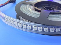 Programmable DC5V WS2812 IC Dream Magic Color RGB LED Strip SMD 5050 control full color LED Strip robbion|dream magic color|led strip smdcolor led strip -