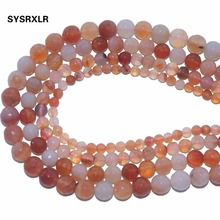 цена Wholesale New Faceted Pink Agates Natural Stone Loose Beads For Jewelry Making DIY Bracelet Necklace 6/8/10/12 MM Strand 15.5'' онлайн в 2017 году