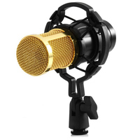 USB Condenser Wired Microphone Mic Professional Microphone For Video Recording Karaoke Radio Studio Microphone For Computer
