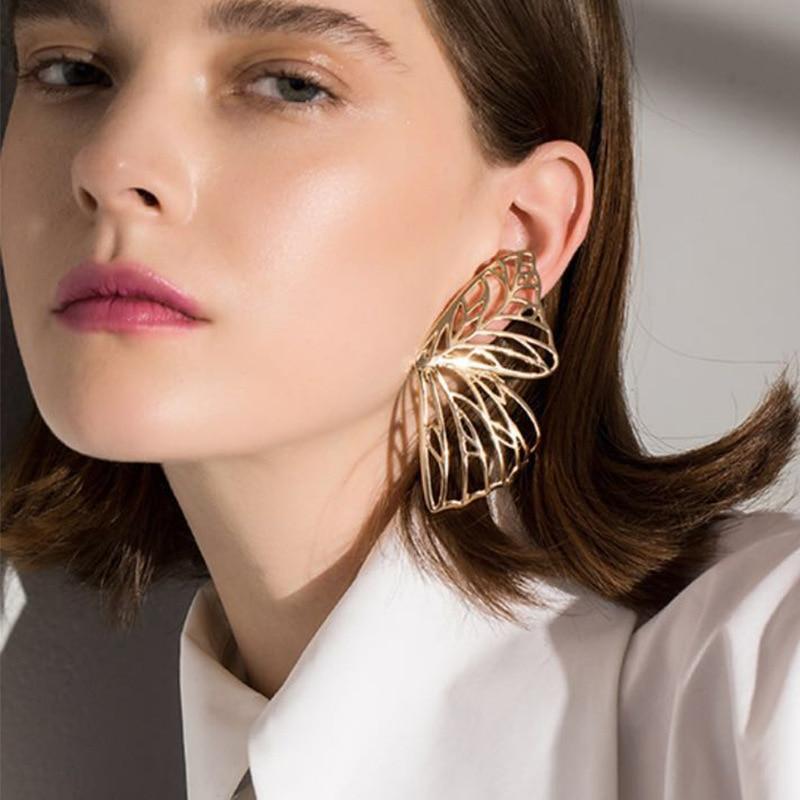 Drop Earrings Shifeel 2018 New Fashion Korea Ins Hollow Irregular Geometric Acrylic Earrings Hyperbole Personality Long Pendientes For Women Low Price