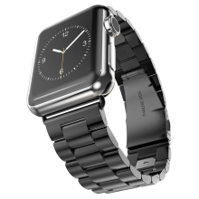 Banda de acero inoxidable para apple watch correa de pulsera del acoplamiento 38mm 42mm smart watch banda de metal para iwatch