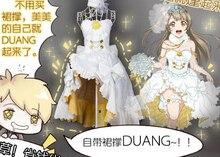 Newest Love Live ! Kousaka Honoka Minami Kotori Sonoda Umi all member Luxury high copy Wedding dress women cosplay costume on Aliexpress.com   Alibaba Group