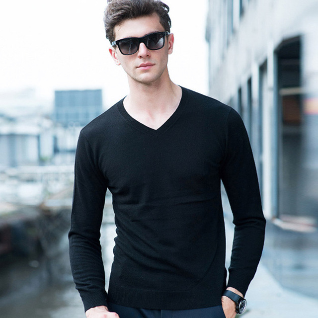 18 Colors Sweater Autumn Winter Men Solid Color Woolen Sweater Pullover O-neck Knitted Mens Sweaters Pull Homme Sueter Hombre