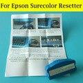 1 PC de manutenção tanque Chip Resetter para Epson Surecolor F6070 F7070 F7000 T7080 T3080PS T5080PS T3050 tanque de tinta