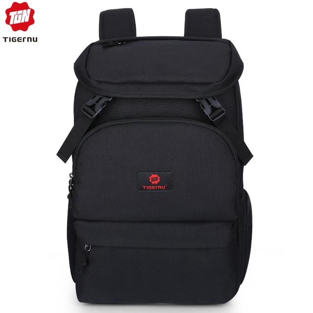 Tigernu Design Large Capacity Men Backpack Female Mochila Summer Backpack Male Canvas College Laptop Backpack for women