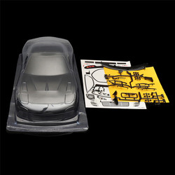 1/10 Unpainted Clear PVC RC Car Body Shell  RX7 260mm Wheelbase for Tamiya YOKOMO HPI Chassis