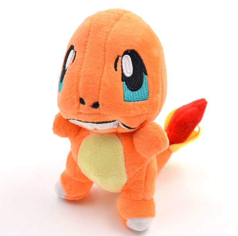 BOHS Dragon Plush Charmander Doll Magic Baby 14cm