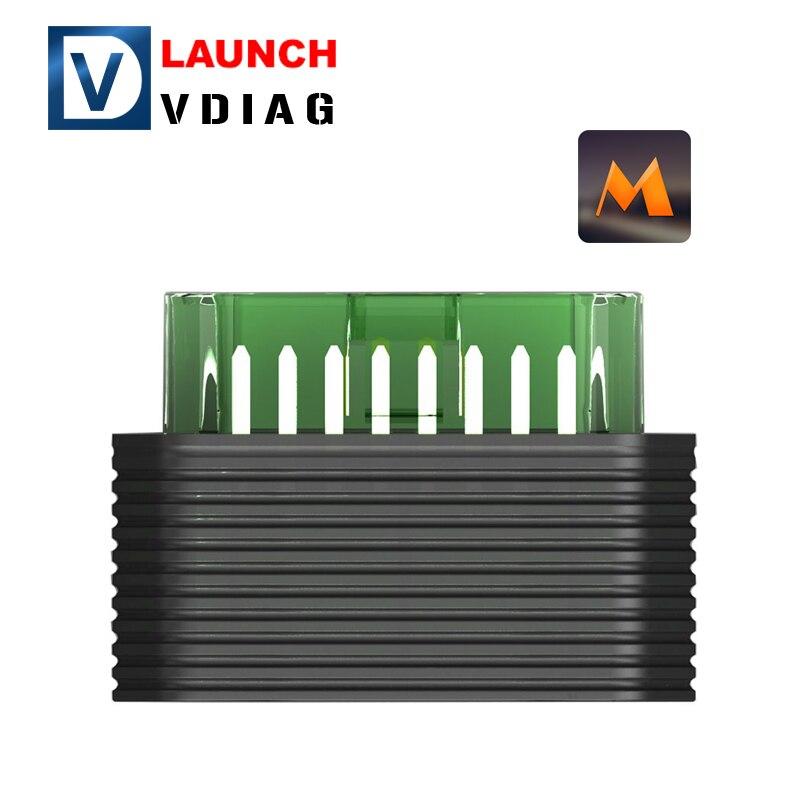 Prix pour 2017 D'origine Launch M-Diag Lite Plus pour iOS Android OBDII MDiag Plus avec Une Livraison De Voiture Logiciel Mieux que Easydiag