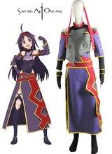 купить Sword Art Online Mother's Rosario Konno Yuuki Cosplay Costume по цене 6643.38 рублей