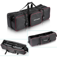 Neewer 35x10x10/90 x 25 x 25 cm Studio Equipment Carrying Bag with Strap for Tripod Light Stand and Photography Lighting Kit