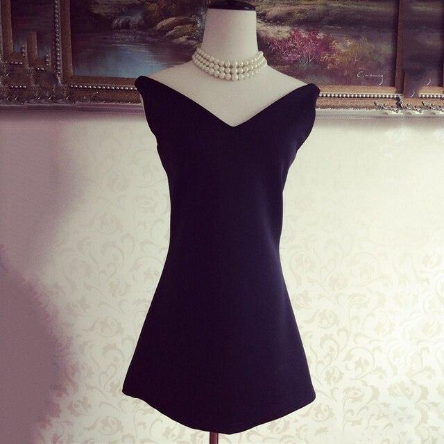 2015 Women Little Black Dresses 50s 60s Vintage Audrey Hepburn