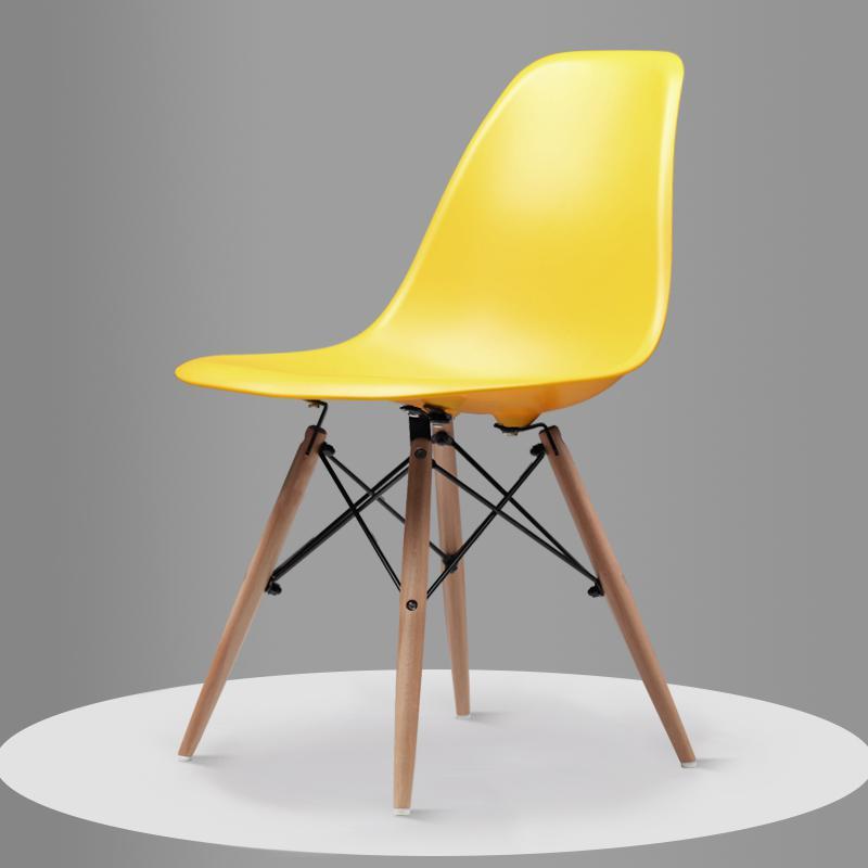 Скандинавский обеденный стол и стулья, современный минималистичный креативный компьютерный офисный стул, повседневный домашний пластиковый кофейный стул - Цвет: Style 5