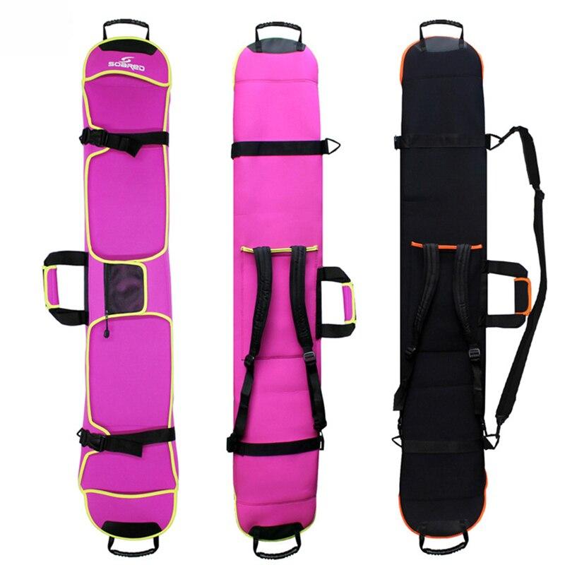 Nouveau Ski Ski Pack Portable porter épaule sac à main pour Snowboard planche unique imperméable Oxford housse 135 cm 145 cm 155 cm