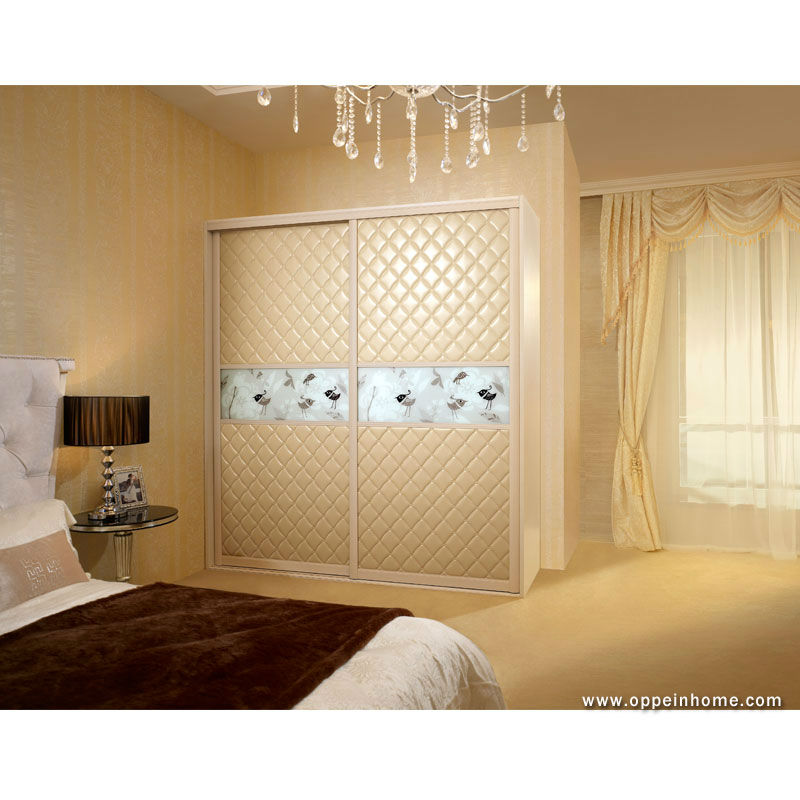 bedroom wardrobe closets cabinet design from oppein yg11226 - Bedroom Cabinet Designs