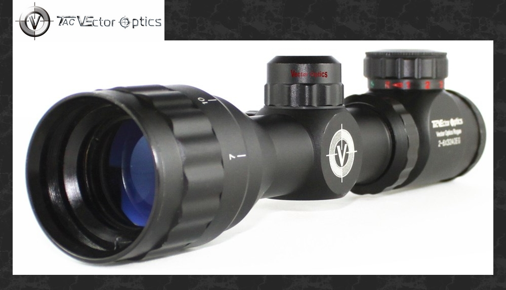 New Vector Optics Rogue 2-6x32 AOE Compact Gun Rifle Scope w/ Illuminated R14 Reticle Sunshade Flipup Cap tactical vector optics 4x32 compact rifle scope weapon acog 223 gun sight 3 colour illuminated 2 options reticle free shipping