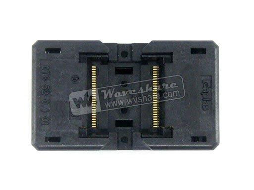 module TSOP52 TSOP OTS-52-0.4-01 Enplas IC Test Socket Adapter 8.9mm Width 0.4mm Pitch importing ic block adapter tsop56 ots 56 0 5 01 test writers adapter