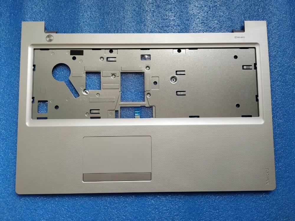 New Original for Lenovo IdeaPad 300-15 300-15IBR 300-15ISK Palmrest laptop upper shell case cover sliver AP0YM000110 new keyboard for lenovo 300 15isk 300 15ibr 300 17isk 300 15ius 300 17ius us english layout