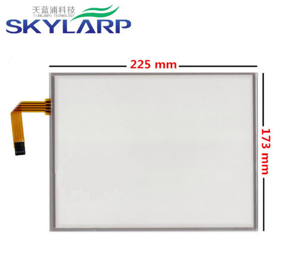 ФОТО 10.4 inch 4 wire 225mm* 173mm industrial Resistive Touch Screen Digitizer for LQ104V1DG52/51 G104SN03 V.1 V.0 AMT 9509 LCD