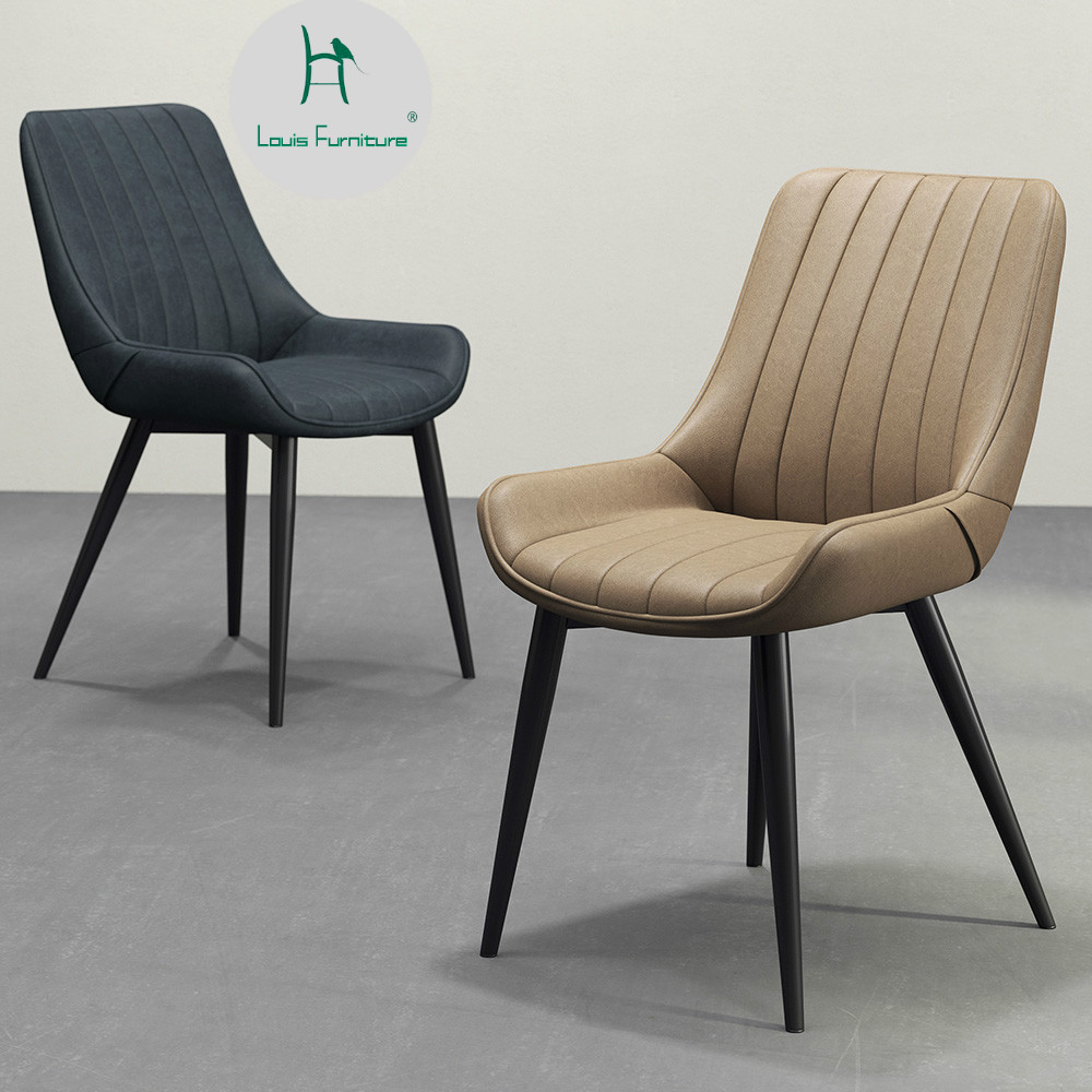 Dining Chair Trends For 2016: Louis Fashion Dining Chair Nordic Modern Simple Household